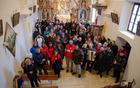 Prisotni v cerkvi sv. Martina.