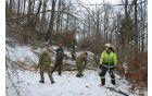 Na pomoč je priskočila tudi vojska [foto: Klemen Zibelnik].