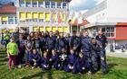 Tekmovalci in mladi navijači GZ Križevci