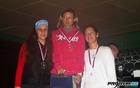 V kategoriji od 40 do 60 leta je na 5 km trasi 3. teka Občine Mengeš zmagala Petra Božičnik, druga je bila Cvetka Zajc, tretja pa Tina Drolc