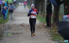 Katja Jeretina, absolutna zmagovalka na 5 km trasi 3. teka Občine Mengeš, 5. november 2016