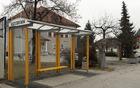 Nova avtobusna postaja pri Gasilsko godbenem delu Mengeš