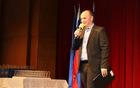Moderator prireditve Anže Bašelj