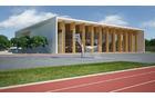 Športna dvorana z zunanjimi športnimi površinami