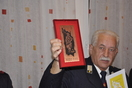 Priznanje in zahvala gasilskemu veteranu Jožetu Fabijanu