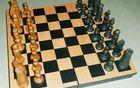Prenovljen šah, ki ga je prvotno izdelal Božidarjev stari oče