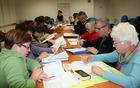 Udeleženci Angleščine za popotnike pri učenju
