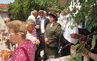 Druženje prostovoljk in prosovoljcev različnih društev iz dveh občin.