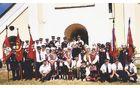 Sprejem gospoda Marka Koširja na Žalostni Gori, 15.8.2000.