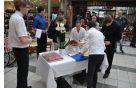 Pogostitev ob otvoritvi so nam pripravili dijaki gastronomskega programa naše šole, pod vodstvom mentoric Bernarde Klančnik in Dragomire Šavc.