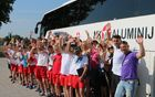 Mladi člani Nogometne šole Aluminij