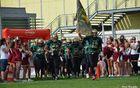 Prihod ekipe Maribor Generals na igrišče v Telfsu na Tirolskem