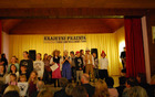 Osrednjo prireditev ob vaškem prazniku je polepšal nastop otrok Podružnične OŠ Sele-Vrhe (Foto Danijela Herlah)
