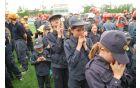 Dekleta so vse do zadnjega upala, da jim bo uspelo drugič zapored osvojiti medaljo na državnem tekmovanju. (Foto: Klemen Zibelnik)