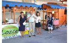 Otvoritev čezmejnih kmečkih tržnic 17.8.2014; Foto: arhiv Občine Kanal ob Soči