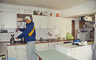 Mitja Kovačič v kuhiji