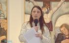 Predsednica muzejskega društva Katarina Oblak Brown