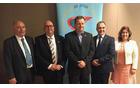 Novi upravni odbor JJEU v Gentu po izvolitvi: Philippe Merlin (Francija), Rick Frowyn (Nizozemska), Robert Perc, Michael Korn (Nemčija), Dana Mortelmans (Romunija)
