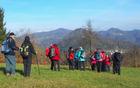 Z zadovoljstvom smo zrli na vse tri vrhove, ki smo jih že osvojili - Tošč, Goro in Grmado (foto Sonja Repnik)