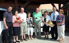 Na jubilejnem srečanju so ji voščili župan občine Polzela Jože Kužnik ter predstavniki društva upokojencev, Župnijske Karitas in Krajevne organizacije Rdečega križa.