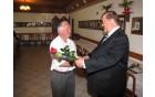 Prejemnik priznanja KS Nova Cerkev Anton KOTNIK iz Landeka