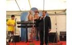 Goste je najprej pozdravil predsednik sveta KS Slavko Jezernik