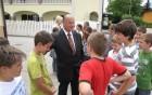 Župan v pogovoru z otroci vojniške OŠ