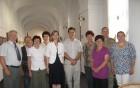 Predstavniki Slovenije z veleposlanico Češke