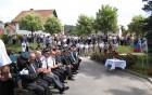 Svečanosti se je udeležilo mnogo občanov občine Vojnik