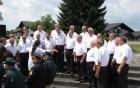 Pevski zbor je prispeval h kulturnemu programu