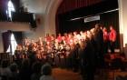 Združeni pevci obeh zborov