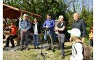 Uradno odprtje Poti miru v občini Šempeter-Vrtojba je pospremil nagovor župana Milana Turka...