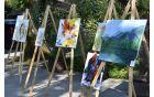 Slikarji so motive iskali v naravi