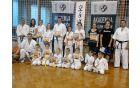 Karateisti z novimi pasovi. Foto: ABV Bohinj