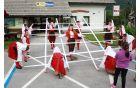 Folklorne skupine so nastopile po bohinjskih vaseh. Foto: Mitja Sodja