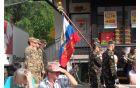Slovenska vojska iz vojašnice na Beli.