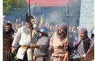 Cesarska vojska je kljub vsemu hrupu slavila zmago | Foto: Loris Vižintin