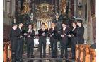 Vokalna skupina In spiritu kot gostje večera