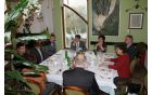 Delovno kosilo z francoskim veleposlanikom. Foto: Nataša Hvala Ivančič