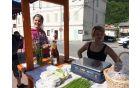 Eko dan in eko ustvarjalnica na kanalski tržnici. Foto: Nika Cvetrežnik