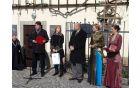 Ob tej priložnosti je župan zbrane tudi pozdavil in povabil na slovesno posaditev trte, ki bo 26. aprila 201.3