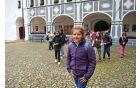 Ogled samostana v Olimju ...