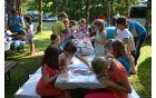Ustvarjalna delavnica za otroke je bila zelo dobro obiskana.