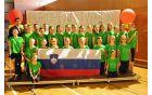 Slovenska reprezentanca v Barceloni; Angelika Koncut