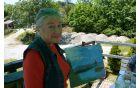 Irena N. tudi še sredi dela