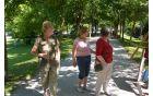 Gostje na prireditivi slikarke Majda Šilar, Krista Hribar in Ela Moravec