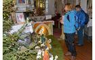 Jaslice so bile tudi letos na ogled v cerkvi sv. Kancijana.