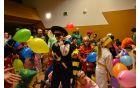 S pisanimi baloni so bile na koncu obdarjene vse maškare.