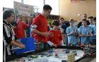 V tekmovanju z robotom so se izkazali tudi gostje iz Črne gore.