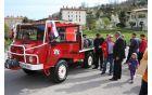 Pinzgaver je zbudil veliko zanimanja med mladimi gasilci. Foto: Toni Dugorepec